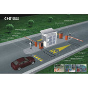 China Smart Car Parking System, RFID Card Barcode Ticket Entrance Controller Box, Automatic Barrier