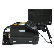 China Intelligent 4 channal AHD HDD Mobile DVR with 3G/4G, GPS and WIFI for vehicle CCTV system.