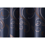 China Wholesale sophisticated jacquard blackout curtain