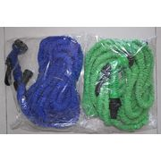China 50ft Expandable Garden Hose Water Hose Solid Brass Ends 8 Position Spray Nozzle 3/4 Inch Lightweight
