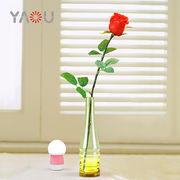 China Artificial Rose Flower with Vase