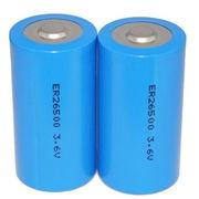China Li-SOCl2 Battery, ER341245 DD size 3.6V Lithium Battery 35000mAh