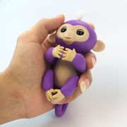 China Colorful Interactive Kids' Finger Toy Baby Monkey with CE RoHS and FCC
