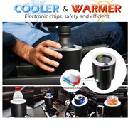 China Electric drink holder for car, cooler and warmer, 12V, all season