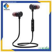 6f72405d47d ... China Magnetic metal super bass wireless Bluetooth headphone wireless  sport earphone with mic ...