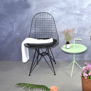 ... China Wire Chair Modern Design Classic Wire Chair Popular Fashion Cafe Metal  Wire Loft Chair ...