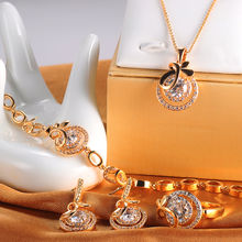 China Promotion high quality wedding jewelry set or hot sale 22k