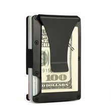 4607e201ba4d4 ... China 2018 Custom Metal Wallet Credit Card Holder