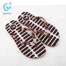 6eb5be477b1 China Pcu and pvc flip flop slipper with own logo eva slipper on ...