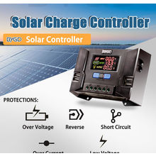 China 12V/24V Auto 10A~80A PWM solar charge controller on Global Sources