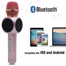 China Handheld Portable Karaoke Microphone Wireless Bluetooth