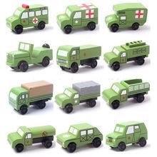 Mini Verdes Militares Vehículos Madera Juguetes Los 2015 China De oxBedC