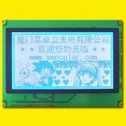China STN Graphic LCD Module with 240 x 128 Dots, LED or EL Backlight
