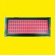 5 x 8 Dots 5V LCD Module with Overall Dimensions of 146.0 x 62.5 x 10.5mm