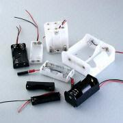 Battery Holder with Lead Wire