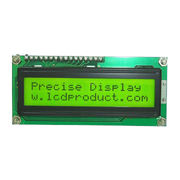 PCM1602A STN Yellow Green 16 x 2 Character LCD Module from China (mainland)