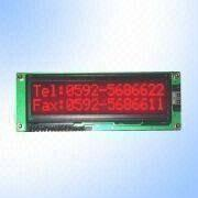 STN Negative 16 x 2 Character LCD Module from China (mainland)
