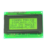PCM1604B STN Yellow Green 16 x 4 Character LCD Module from China (mainland)