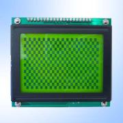 High-Efficiency STN Yellow Green 128 x 64 Pixels Graphics LCD Module from China (mainland)