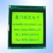 STN Yellow Green 128 x 128 Pixels Graphics LCD Module from China (mainland)