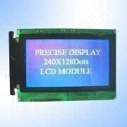 STN Negative Blue 240 x 128 Pixels Graphics LCD Module from China (mainland)