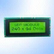 STN Yellow Green 240 x 64 Pixels Graphics LCD Mod from China (mainland)