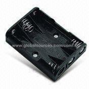 Regular Battery Holder for Three AAA/UM4 Batteries