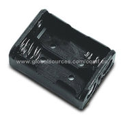 Regular Battery Holder with TAG Terminal, Suitable for 2 x N Cell or UM-5 Battery