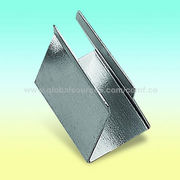 Battery Holder, Made of 0.4mm Steel Nickel-plate, for One 9V Cell from Comfortable Electronic