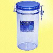 Round Airtight Food Storage Container Keeps Fresh from Taiwan