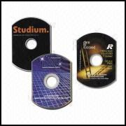 Oval-Shaped DVD-Rom Replication Services from Hong Kong SAR