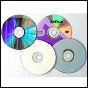 Regular 120mm DVD+/-R from Hong Kong SAR