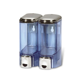 Taiwan 200mL x 2 Soap Dispenser in Compact Type, Ideal for Public Areas and Households