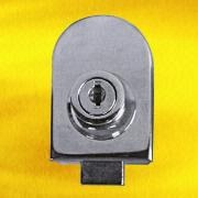 Chrome-plated Single Glass Door Lock from Hong Kong SAR