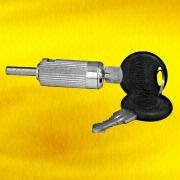 Chrome-Plated Window Push Lock Manufacturer