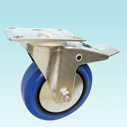 Swivel Caster with Silver Coated Top Plate from Kin Kei Hardware Industries Ltd
