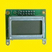 8 x 2 Lines LCD Module with 2.95 x 4.75mm Character Size