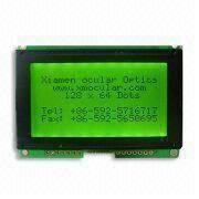 China STN Graphic LCD Module with 128 x 64 Dots, LED or EL Backlight