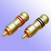 Attractive and Highly Versatile Gold-Plated RCA A from Taiwan