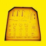 Alphanumeric LCD Module with 5V Driving Voltage from Xiamen Ocular Optics Co. Ltd