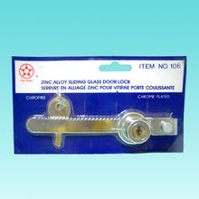 Chrome-plated Sliding Glass Lock from Hong Kong SAR