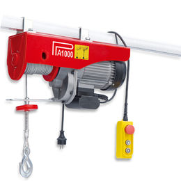 Electric Hoist with Emergency Stop Switch and 500/1,000kg Maximum Lifting Weight