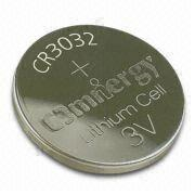 Lithium/Manganese Dioxide Button Cell from Hong Kong SAR