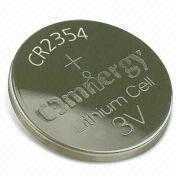 Hong Kong SAR CR2354 - Lithium/Manganese Dioxide Button Cell with 0.2mA Standard Current