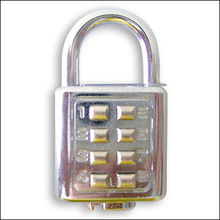Digital Padlock (With 8 Digits), Private Labels Acceptable for Large Quantity