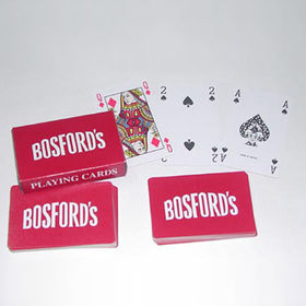 Taiwan Plastic Playing Card Set