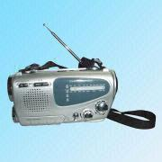 AM/FM 2 Band Multifunction Dynamo and Solar Radio from China (mainland)