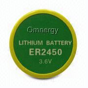 ER2450 - Lithium Thionyl Chloride Button Cell from Hong Kong SAR