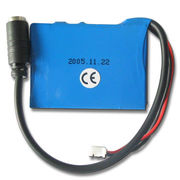China 3.7V 650mAh Li-ion Battery Pack