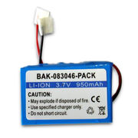 Li-ion Battery Pack, Measuring 8.5 x 34 x 48mm
